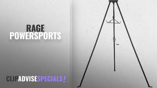 Top 10 Rage Powersports [2018]: Rage Powersports 500 pound Capacity Tripod Game Hoist with Gambrel