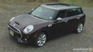 2016 MINI Cooper Clubman S Test Drive Video Review