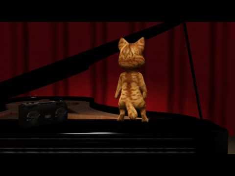 3D Dancing Cat Animation