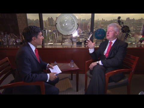 Bill Clinton: From omnivore to vegan