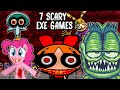 7 SCARY .EXE CREEPY PASTA GAMES! Blossom.exe ,My Little Pony.exe, Garfield.exe, Spongebob.exe + More