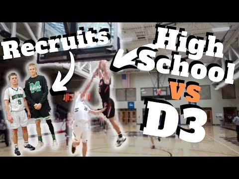 How Good Do You Have To Be In High School To Play D3 Basketball?!