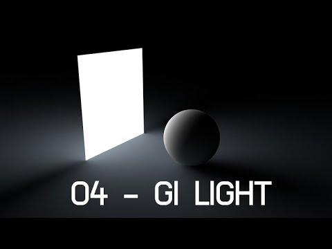 04. Global Illumination Light - Cinema 4D Lighting