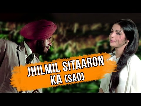 Jhilmil Sitaron Ka Aangan Hoga (Sad) Full Video Song | Jeevan Mrityu | Lata Mangeshkar Hits