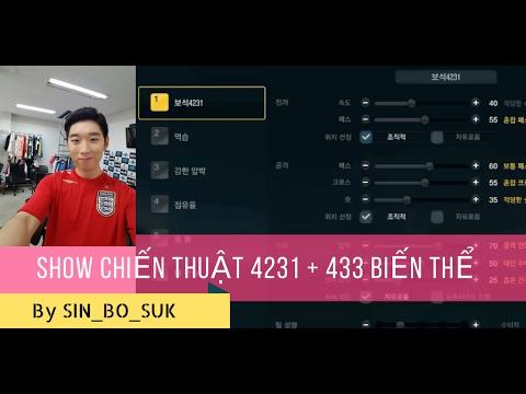 SHOW CHIẾN THUẬT XẾP HẠNG 4231 + 433 BIẾN THỂ By SIN-BO-SUK FO3VN 2017. #56  - YouTube