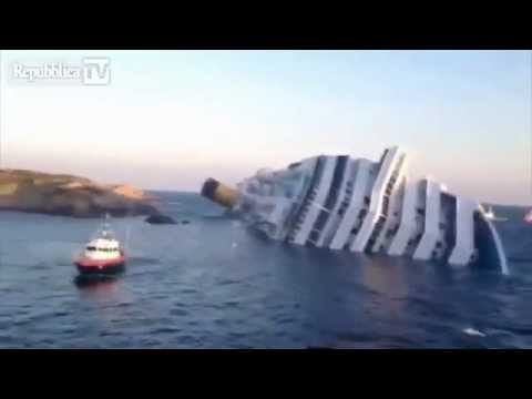 Costa Concordia January 14 2012 morning.mp4