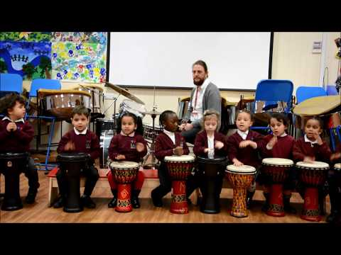 Reception Drumming 2017
