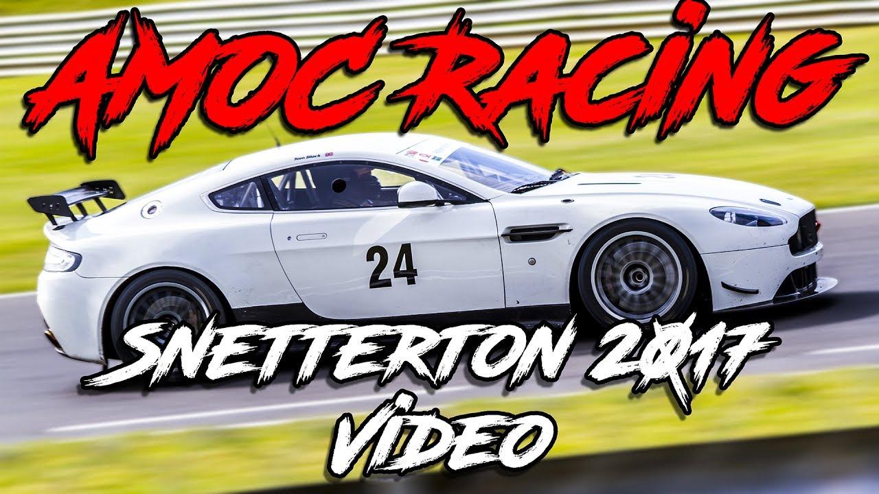 aston martin owners club racing - snetterton - 2017 - youtube