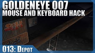 🔴 GoldenEye 007: 00 Agent/Mouse Hack #13 — Depot
