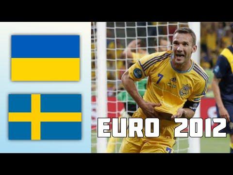 Ukraine 2 - 1 Sweden   EURO 2012
