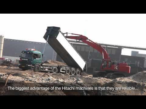 Hitachi ZX520LCH-3, excavator, Koole, the Netherlands
