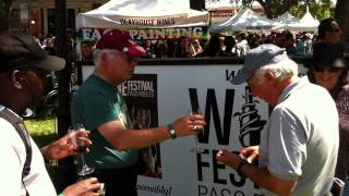 Paso Robles Wine Festival 2011 - Walk around video