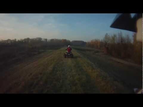 ATV Quad Levice a okolie Hron5
