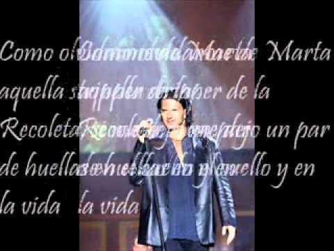 Marta - Ricardo Arjona. Letra.
