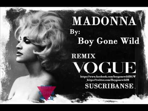 Madonna Vogue Remix