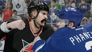NHL 16 Career Mode #14 - 4 Fights 1 Game