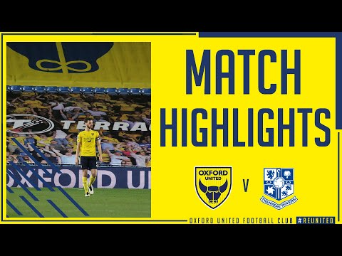Oxford Utd Tranmere Goals And Highlights