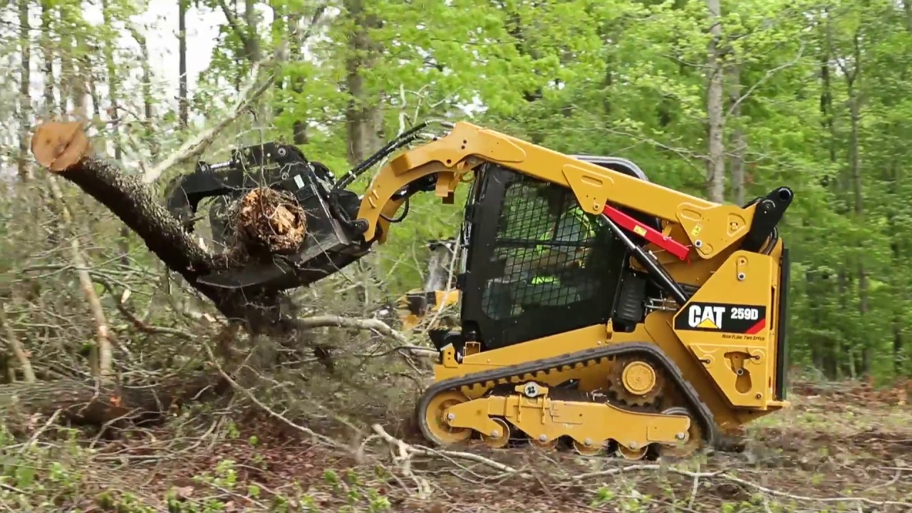 Caterpillar Skid Steer >> Visibility On Cat Skid Steer And Compact Track Loaders Experience The Difference