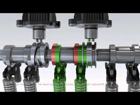 Audi Q3 Cylinder on Demand | Animation 3D