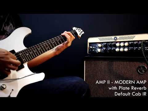 YAMAHA THR100HD LEAD and MODERN Amps Direct Recording Demo