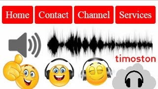 How to create Button Sound Effect   Audible Menu system using CSS,HTML5 & JAVASCRIPT