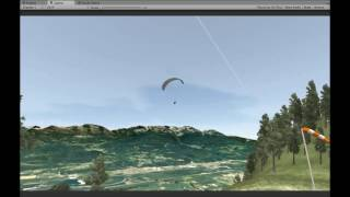 Saint Hilaire, France Paragliding - Paraflysim 3D Simulator