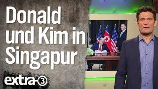 Trump und Kim in Singapur