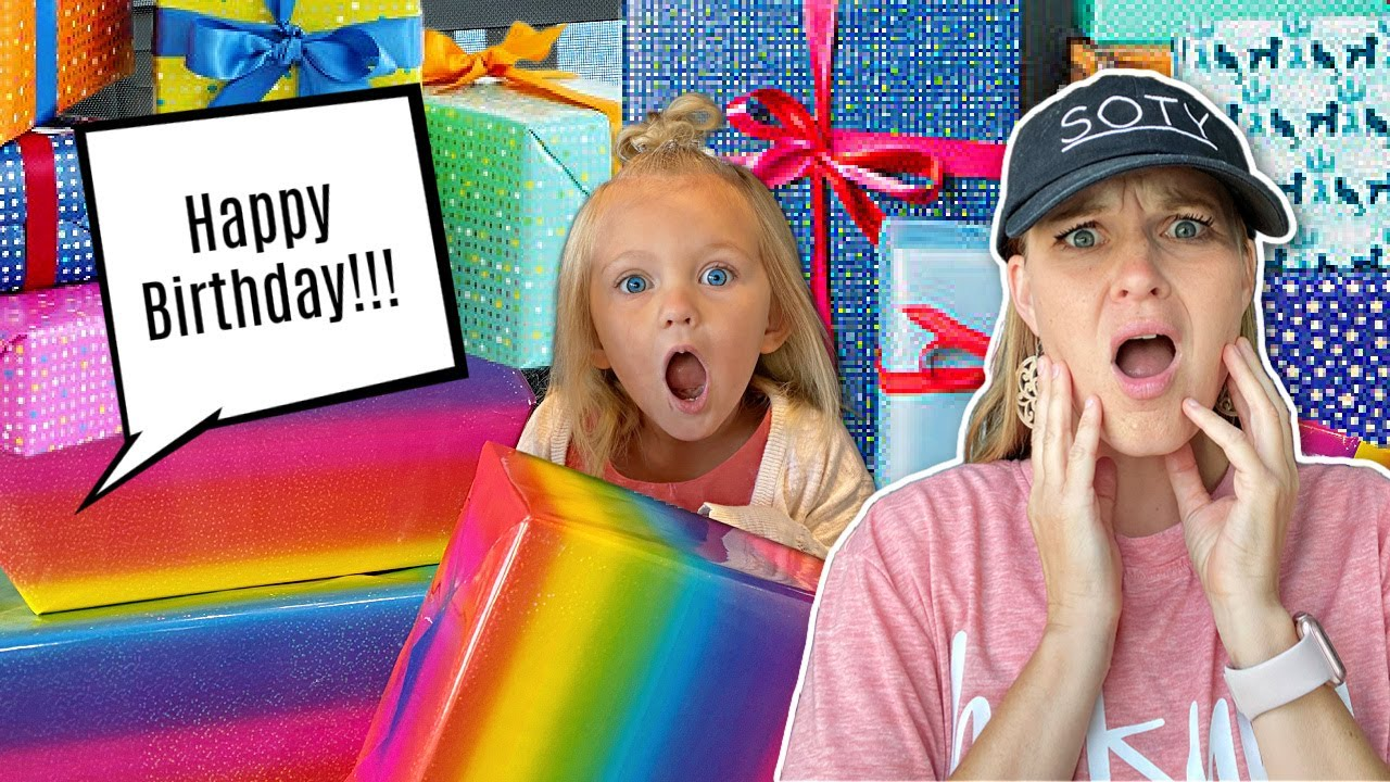Download DAD BUYS Too Many PRESENTS! Blake's 4th Birthday