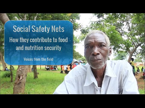 Social Safety Nets ― How They Contribute to Food and Nutrition Security!