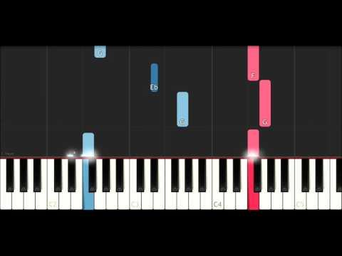 Chris Brown - Pills & Automobiles (SLOW EASY PIANO TUTORIAL)