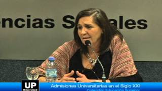Presentación del libro: Admisiones universitarias en el siglo XXI - Parte5