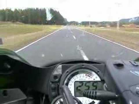 ZX6R 636 Speed Run - YouTube
