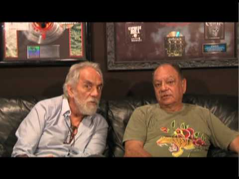 Cheech and Chong talk about the Smokeout!