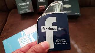 Perfumes marca Samsung S7 , M2 Remy Marquis, Facebook perfume.