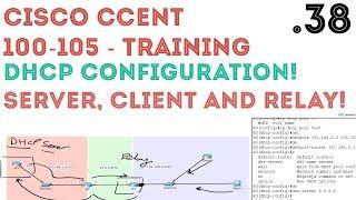Video Cisco - CCENT/CCNA R&S (100-105) - DHCP - Configuration (Server, Client & Relay) .38 download MP3, 3GP, MP4, WEBM, AVI, FLV Juni 2018