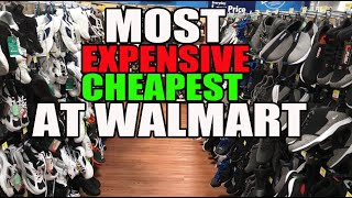 SNEAKERS SHOPPING AT WALMART: MOST EXPENSIVE / CHEAPEST FOUND