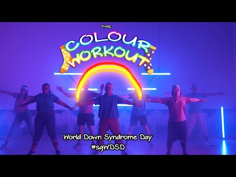 MINDS World Down Syndrome Day 2021 - The Colour Workout Video