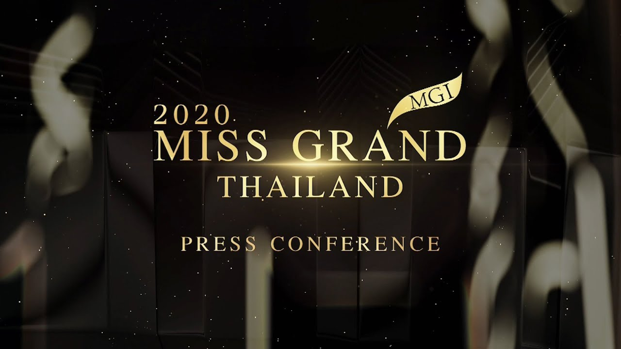 Miss Grand Thailand 2020 - Press Conference
