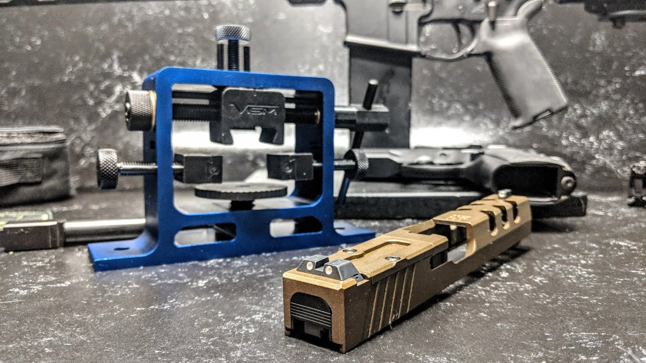 NcSTAR Heavy Duty Universal Pistol Dovetailed Rear Sight Pusher Tool