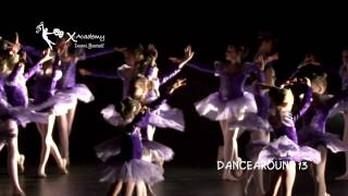 "X  Academy's ""DANCEAROUND 13"" preview"