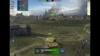 WoT Blitz - Встреча с чудовищами и выполнение БЗ в любимой игре- World of Tanks Blitz (WoTB)