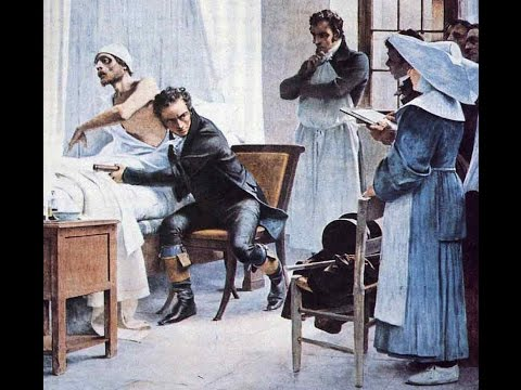 Rene Laennec, How fear of women's chests led a doctor to invent the stethoscope