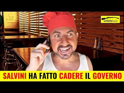 Il Pizzaiolo spiega perchè SALVINI ha fatto Cadere il Governo | Sergio Giuffrida *SATIRA*