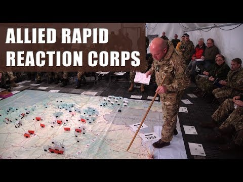 NATO's Allied Rapid Reaction Corps