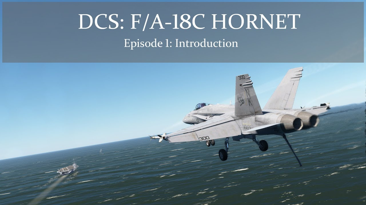 dcs f a 18c hornet for when the legendary warthog flight sim just isn t hard enough polygon [ 1280 x 720 Pixel ]