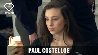 London Fashion Week Fall/WItner 2017-18 - Paul Costelloe Hairstyle | FTV.com