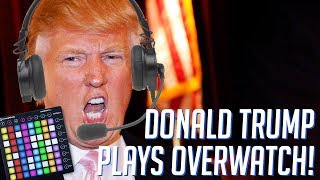 Donald Trump Plays OVERWATCH! Soundboard Pranks in Competitive! thumbnail