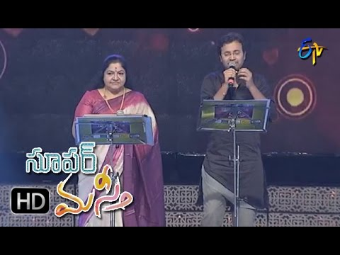Muvvala Navvakala Song|Chithra, Srikrishna Performance | Super Masti|Vijayawada|26th March 2017