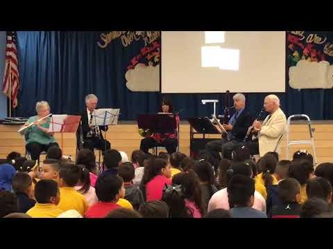 Inspiring Notes Visits Sara Coughlin Elementary School