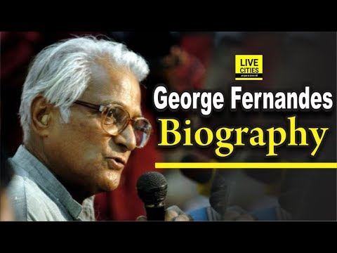 George Fernandes Biography, Political Journey, George Fernandes Family | LiveCities